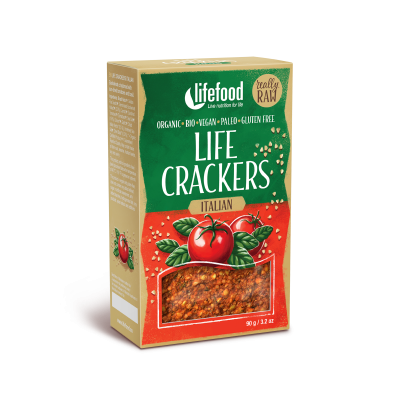 Life crackers italské LIFEFOOD